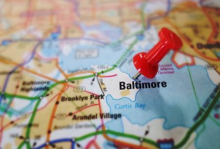 Baltimore-Map-Pin