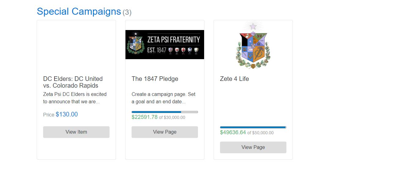 eduction fundraising goals