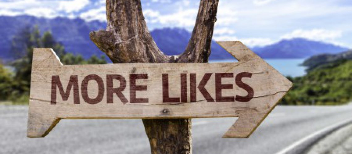 more likes sign